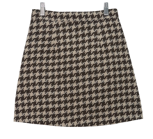 Herring check mini skirt