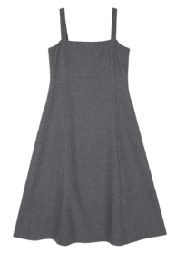 Allie flared maxi dress