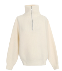 Eisen Half Zip Up Knit