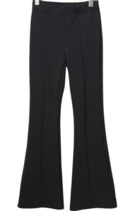 Mink Fleece-lined Flared band pants