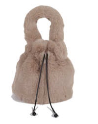 Fur two-way bag
