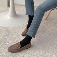 Burdines suede loafers