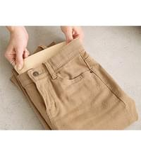 Comfortable Fleece-lined Flared pant # 75074