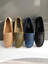 Tsudea Real Fur Height Loafers 3cm
