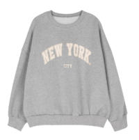New York Fleece-lined crew neck sweatshirt