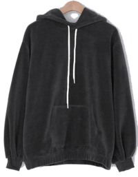Bubble soft fleece hoodie