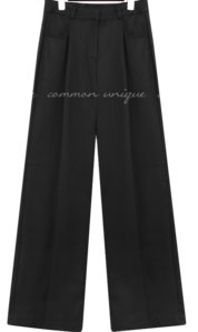KOY PINTUCK SEMI WIDE SLACKS