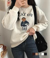Play Teddy Fleece-lined Sweatshirt