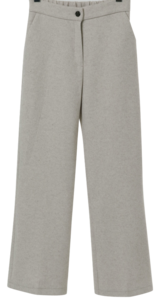 Soul Semi Wool Boots Cut Slacks