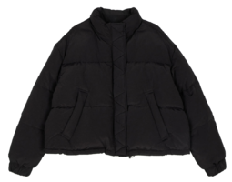 Montt short padded down jacket zip-up