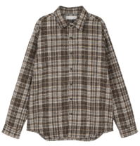 Molk unisex check shirt