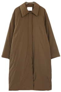 deep maxi padding coat