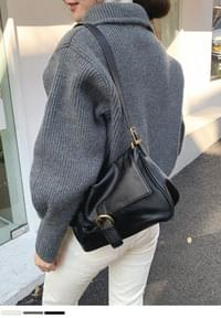 Simple Mood Knit Zip Up
