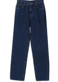 Salt flat brushed denim pants