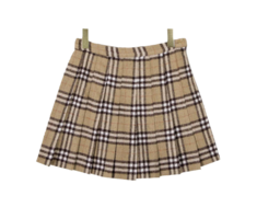 Check Ant Wool Skirt