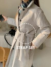 Calling strap padded coat