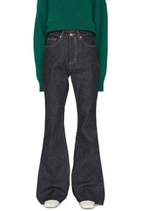 Breen dough brushed bootcut jeans