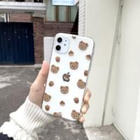Momo Squirrel Chestnut iPhone Case