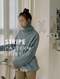 Michu striped shirt