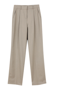 Winter Pintuck Slacks; Gray