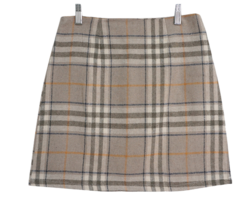 Schnee check mini skirt 裙子