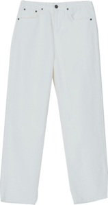 Cozy Straight Fit Cotton Pants