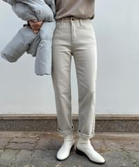 Steen Daily Straight Cotton Pants
