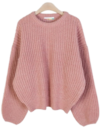 Purin Color Puff Knit ♥ Various Colors: D 針織衫