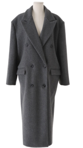 Notting Hill Double Wool Long Coat