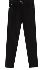 Need brushed slim date pants