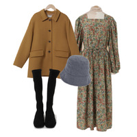 coat,dress,romanticvintage,retro 코디