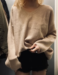 Loose cash knit