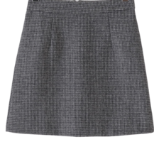 Hound Check Wool Mini Skirt 裙子