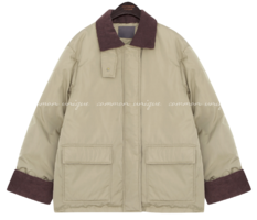 WELLON CORDUROY COLLAR PADDING