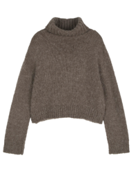 Fave alpaca turtleneck knit