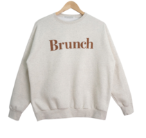 Lunch Patch Fleece-lined Sweatshirt 長袖上衣