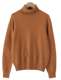 Modern Basic Raccoon Turtleneck Knitwear