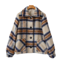 Shay check jacket