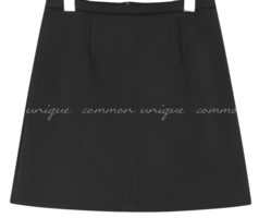 ARIA SIMPLE A LINE MINI SKIRT