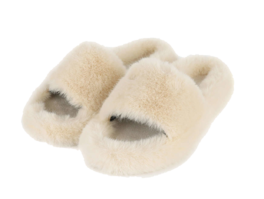 Bobo fur slide sandals