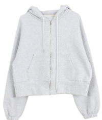 Normal Hood Zip-up
