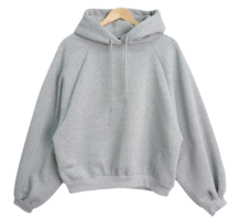 Nageurang Boxy Fleece-lined Puff Hoodies
