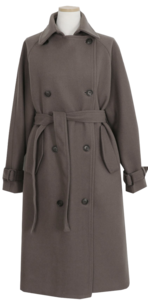 Frum Double Wool Coat