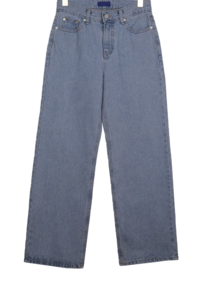 Rayning semi-wide trousers
