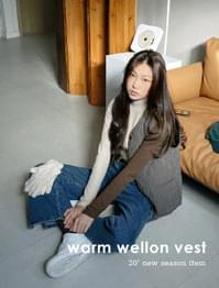 Vanilla Wellon Qualting Padded Vest
