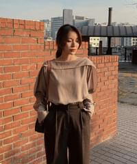 Assuming Blouse-3color
