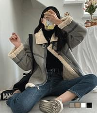Life color wool Shearling