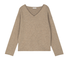 Jay Real Cashmere V-Neck Knit