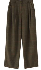 Classic Wool Wide Slacks