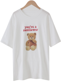 Toy Bear Printing T-shirt
